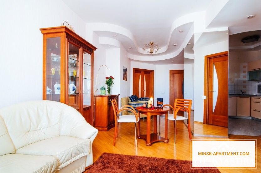 Living Room - Apartment in the Center of Minsk Belarus